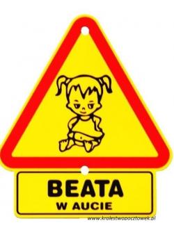 """Trójkąt - """"BEATA..."""