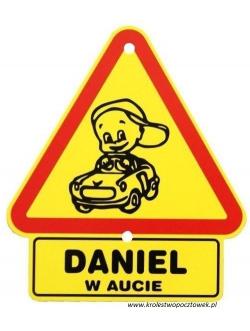"""Trójkąt - """"DANIEL..."""