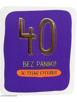"""Karnet - """"40 BEZ..."""