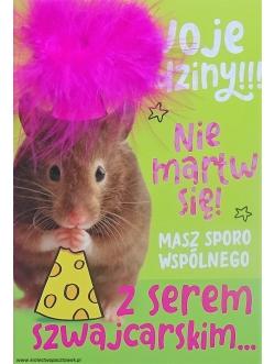 Karnet urodzinowy...