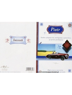 Imiennik - Piotr