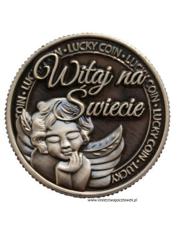 Moneta LUCKY COIN...