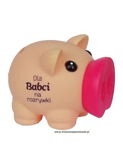 Skarbonka świnka...