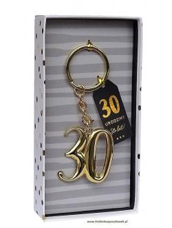 "Brelok GOLD - ""30"""